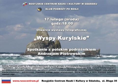 """Wystawa fotograficzna pt. """"Wyspy Kurylskie"""" 17.02.2010"""