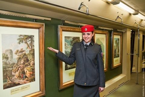 75-lecie moskiewskiego metra