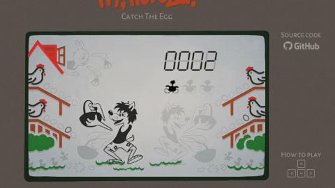 Gra Wilk i Zając online – zbieramy jaja :)