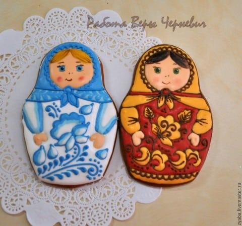 Pierniczki świąteczne z Rosji