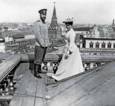 Pierwsi moskiewscy rooferzy