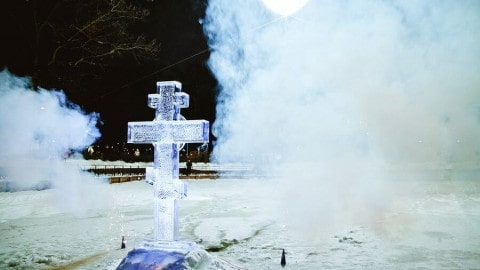 Chrzest Pański w Rosji