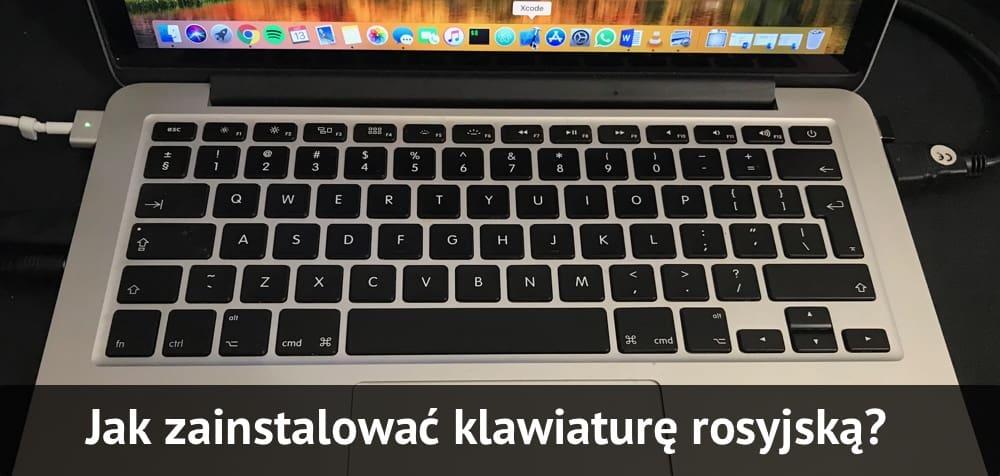 Jak zainstalować klawiaturę rosyjską